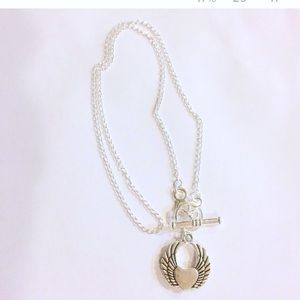 Jewelry - Silver charm choker necklace